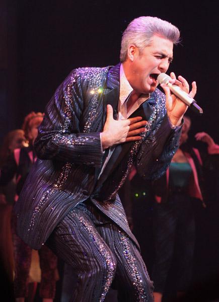 Taylor Hicks, American Idol Winner, as Teen Angel in Grease the Musical