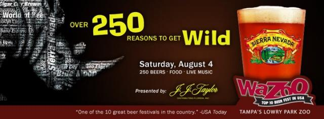 Wazoo Beer Fest Tampa