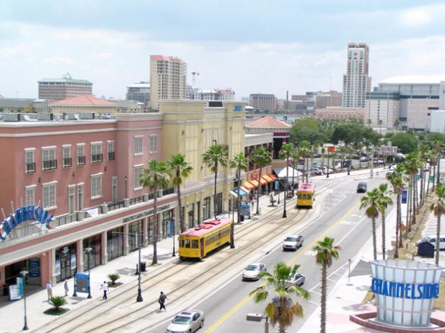 Channelside in Tampa, home to the best in food, shopping, and entertainment