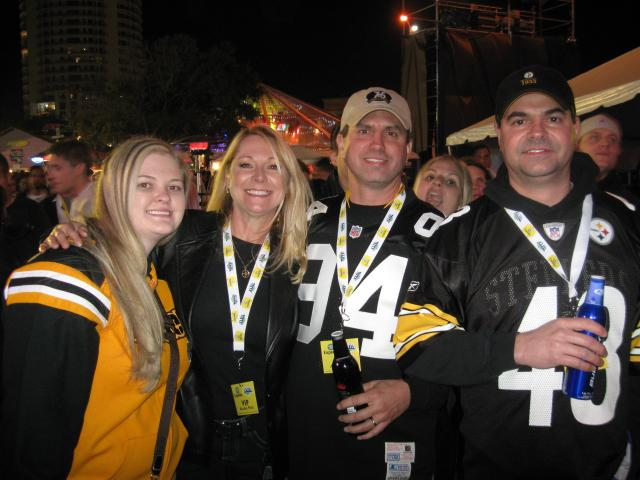 Tampa Bay Area Events: Steelers Fans at Snoop Dogg Concert