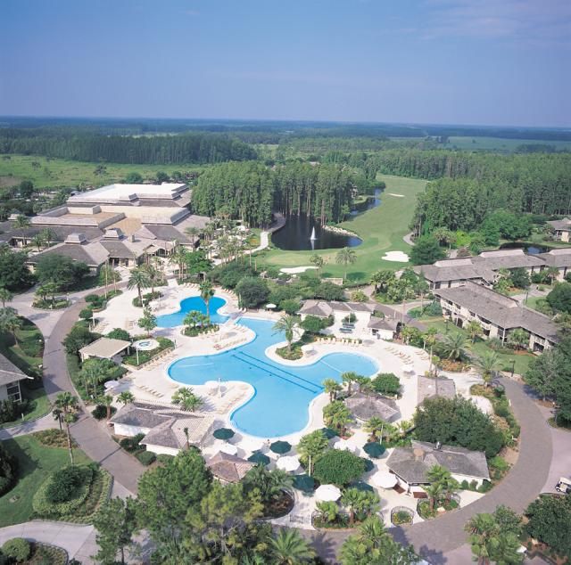 Saddlebrook Aerial View