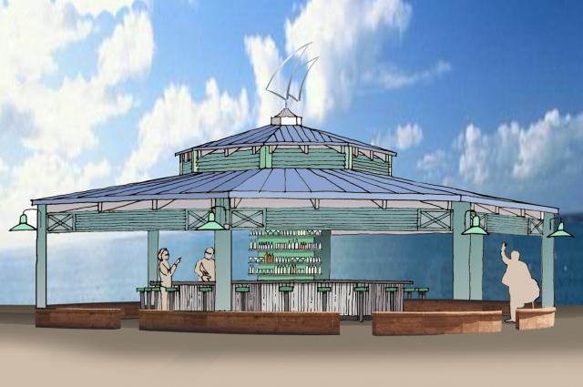 Sail Pavilion Rendering