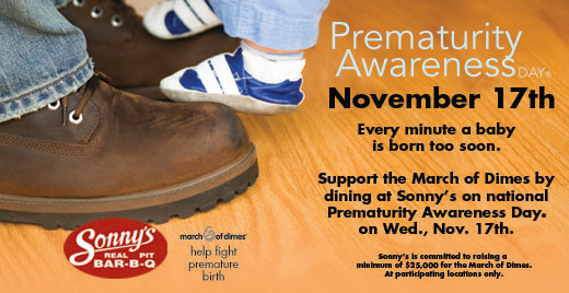 March of Dimes Prematurity Awareness