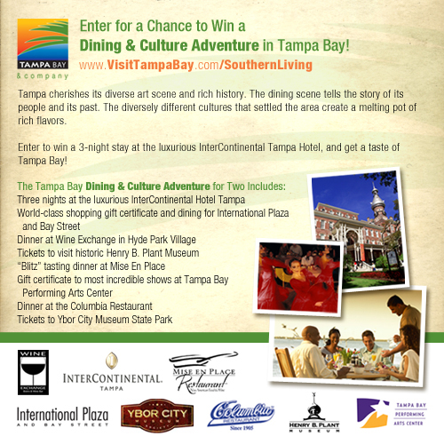 Enter to Win a Dining and Culture Trip to Tampa Bay!
