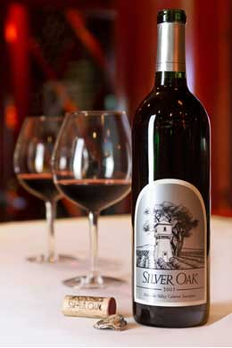 Silver Oak Dinner at Fleming's Prime Steakhouse & Wine Bar