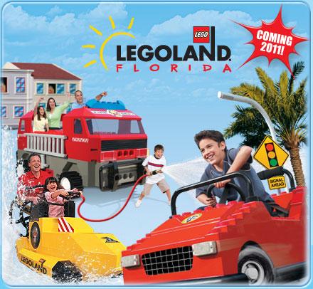 LEGOLAND opening October 2011