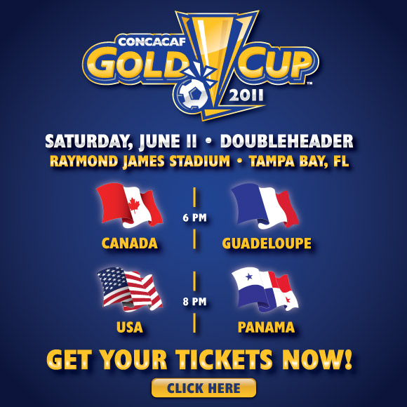 Gold Cup in Tampa Bay