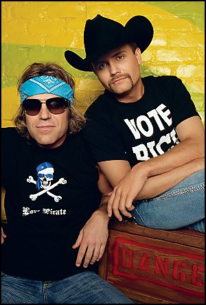 Big Kenny and John Rich muddy up country music boundaires with splashed of rock, hip-hop, and comedy!