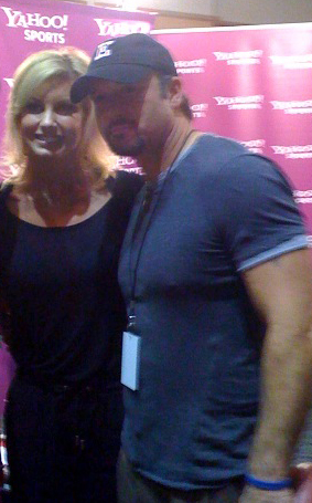 Media Center Celebs - Tim and Faith