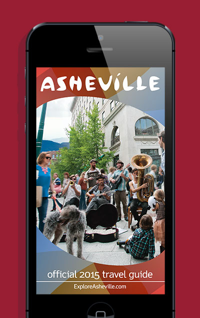 View the digital, interactive Asheville Travel Guide, or download the mobile app for your iOS and Android smartphones.