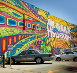 Houston is 2 Mural