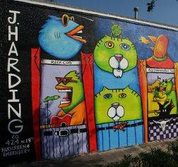 Beans Barton Mural