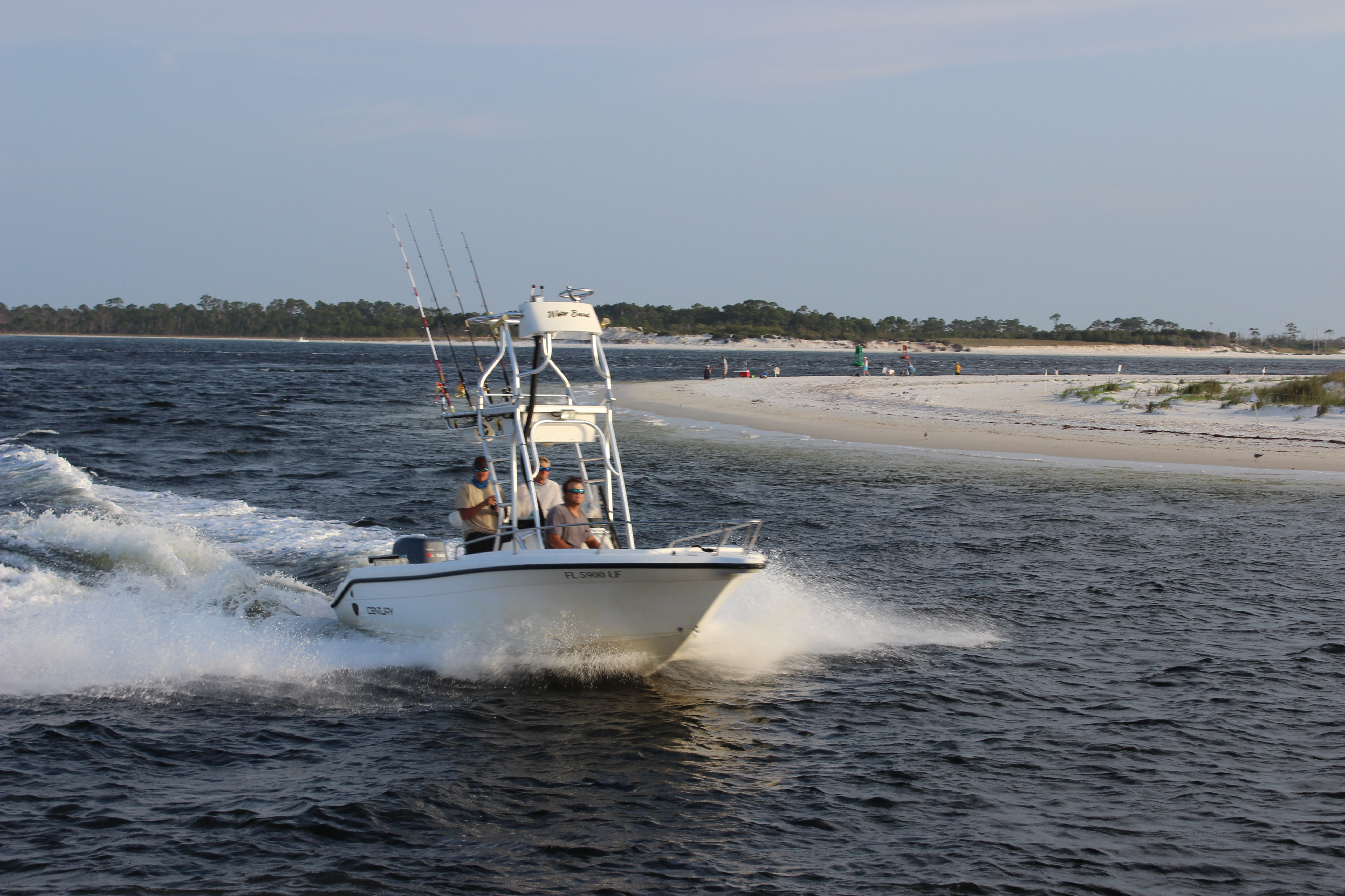 Boat rounding deepwater point in PCB