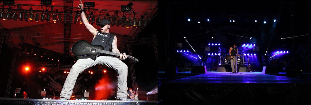 Brantley Gilbert at Gulf Coast Jam