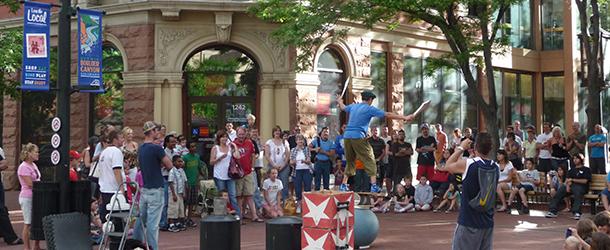 Pearl Street Performer