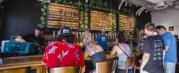 Avery Brewing Bar