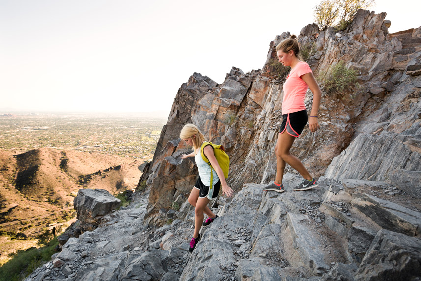 Piestewa Peak Hikers