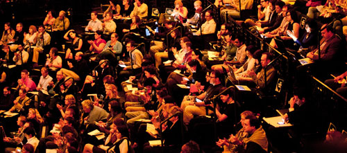 Audience at BIF 9