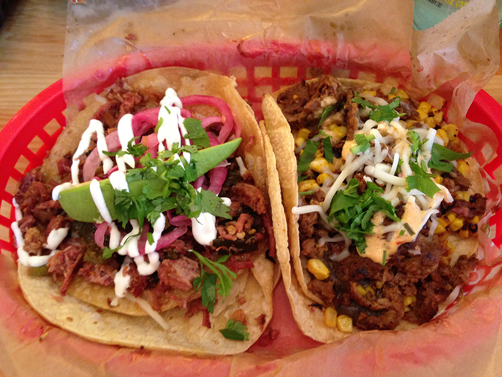 The delicious Torchy's Tacos. Photo Credit Kristen Baughman.