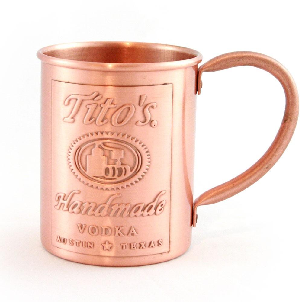 Tito's Copper Mug. Photo by Tito's Handmade Vodka