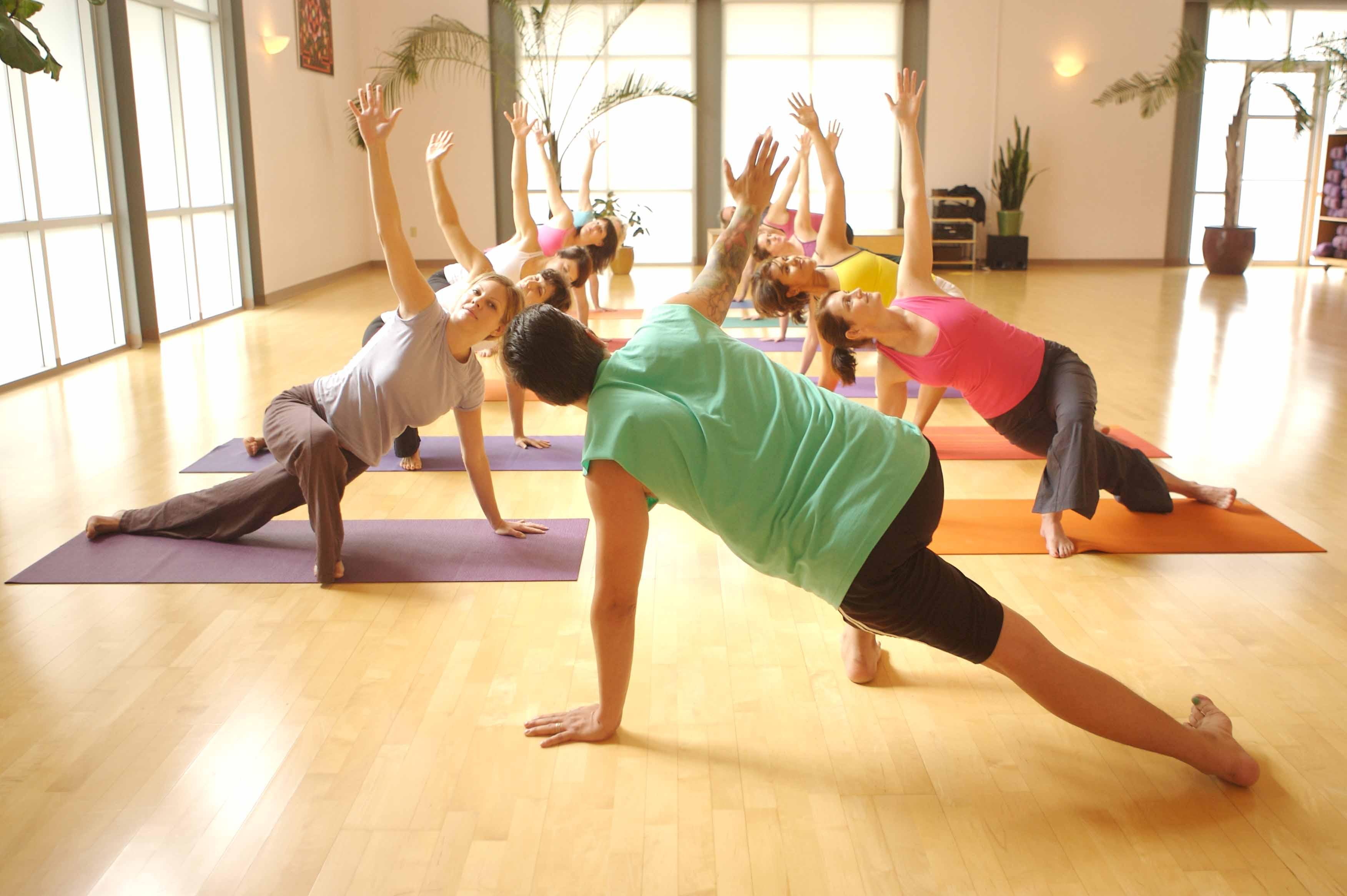 Peaceful workouts at Yoga Yoga