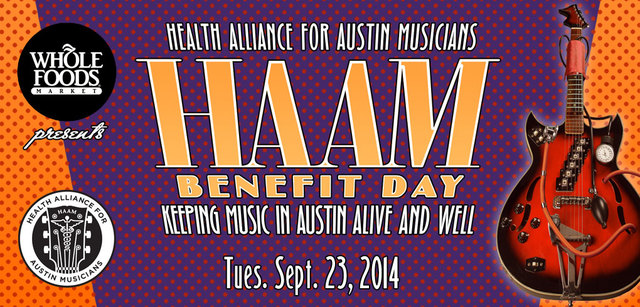 HAAM Benefit Day 2014. Photo by Health Alliance for Austin Musicians.