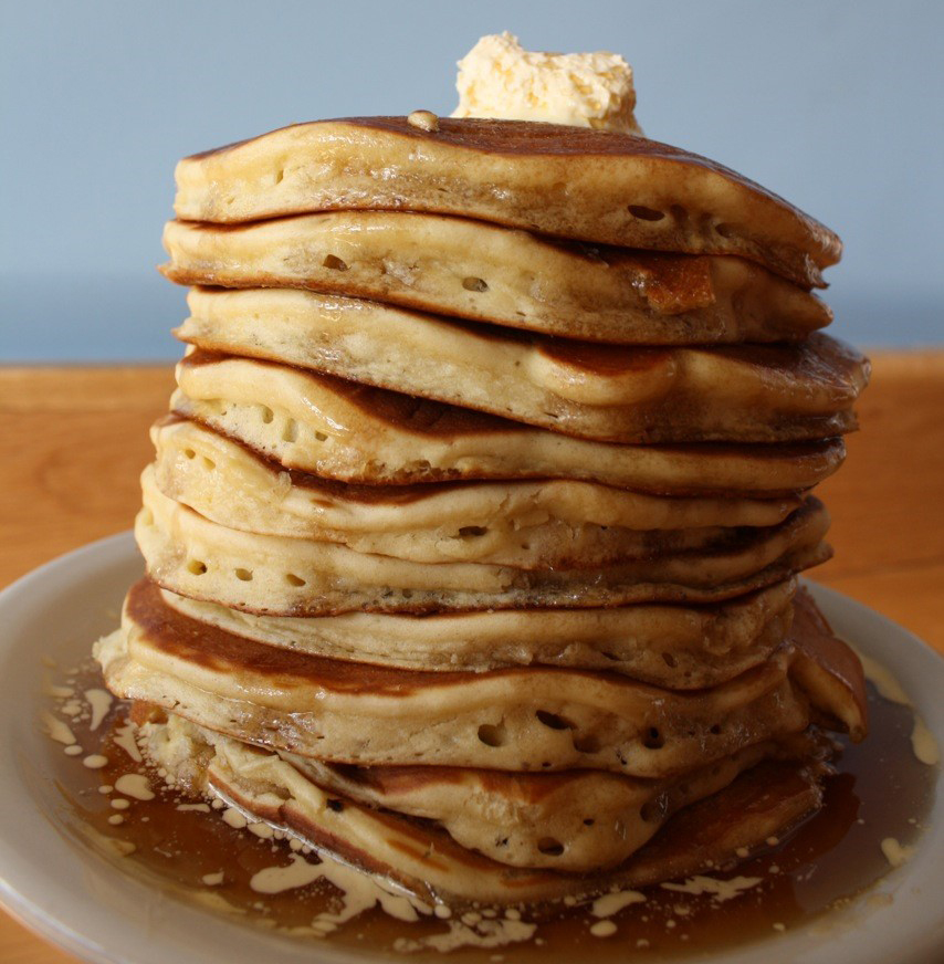 Pancakes from Kerbey Lane Cafe