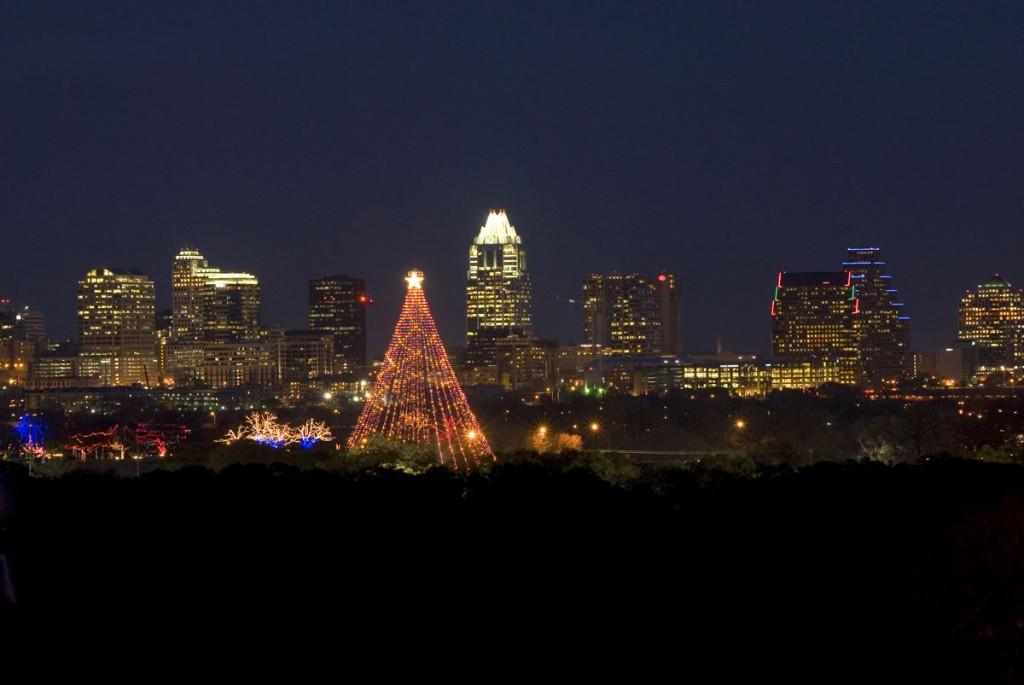 Austin's Zilker Tree. Photo by Austin Trail of Lights.