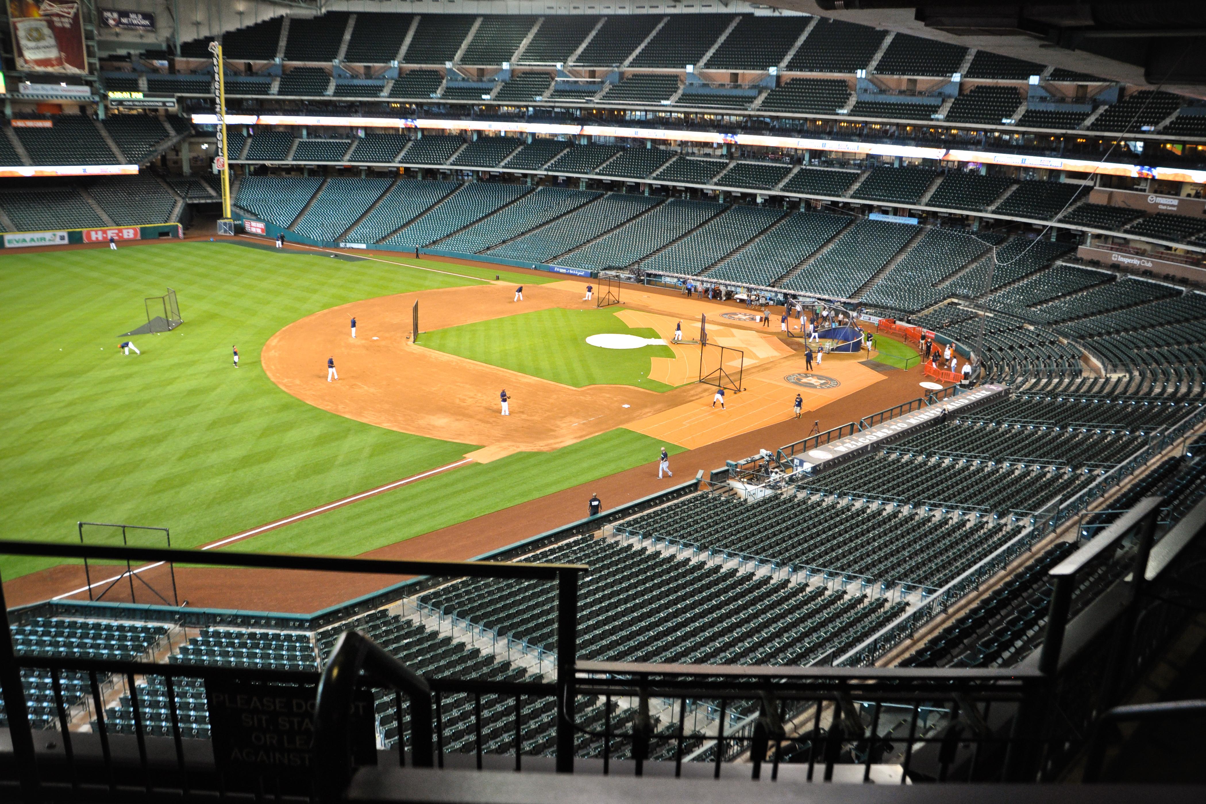 Baseball Diamond at Minute Maid Park