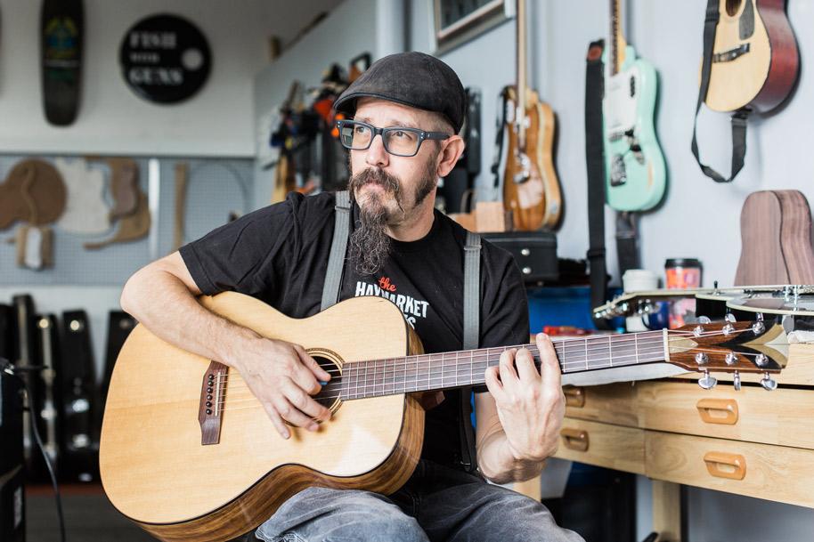 Mark Allred Custom Guitars