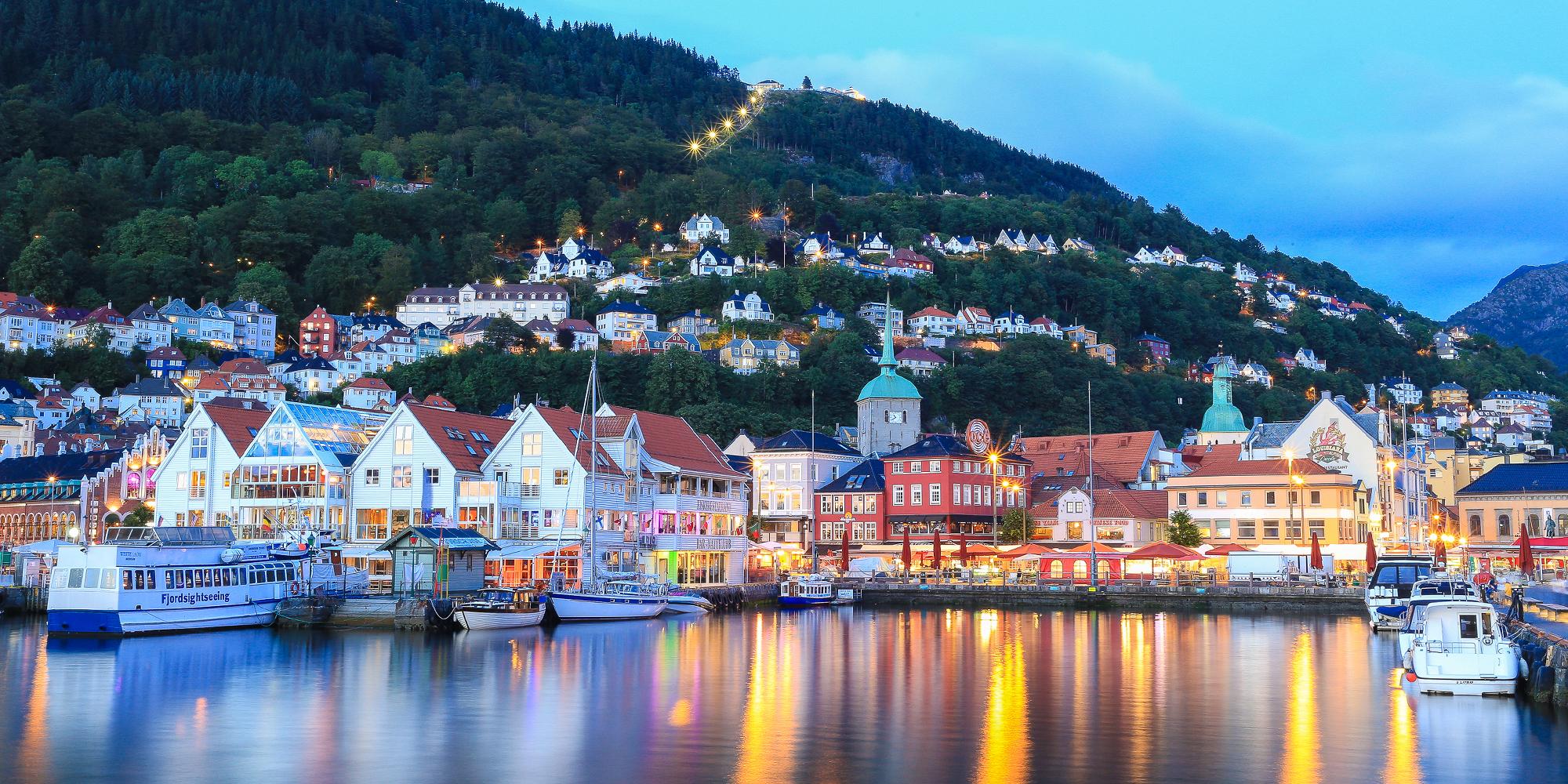 Image result for bergen harbour