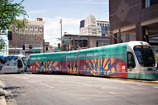 Light Rail downtown