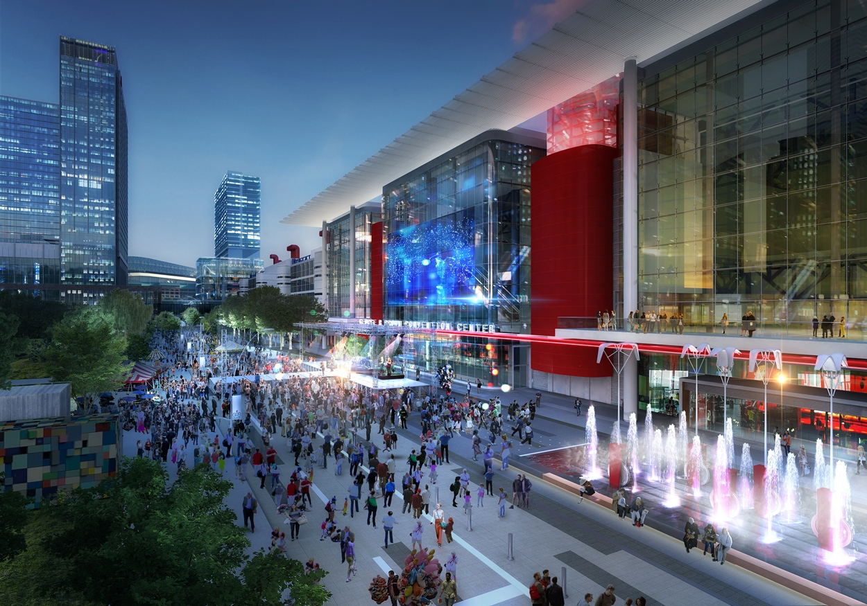 Convention District Rendering