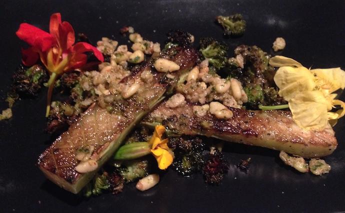 Sauteed Broccoli: Sauteed spear, roasted floret, provencal granola ...