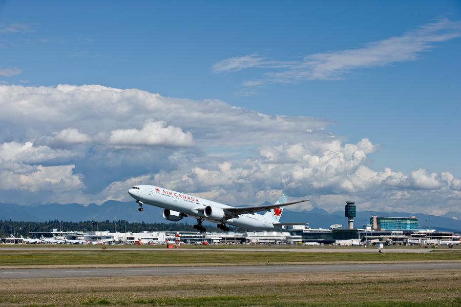 YVR departure