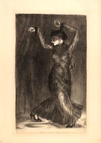 Helen Farr Sloan, Feline No. II, Angna Enters, 1930