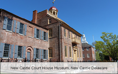 New Castle Courthouse Museum, New Castle, Delaware
