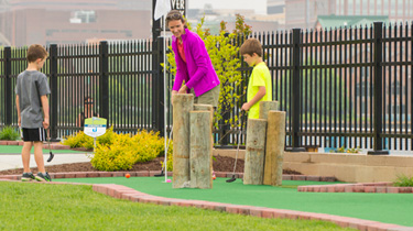 Riverfront Mini Golf in Wilmington Delaware