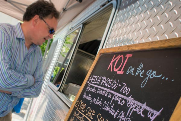 KOI Food Truck Wilmington Delaware