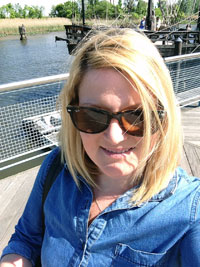 Gaby Riverfront Selfie