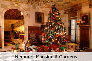 Holidays at Nemours Mansion