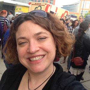 Jessica Food Truck Selfie