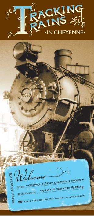 Tracking Trains in Cheyenne brochure