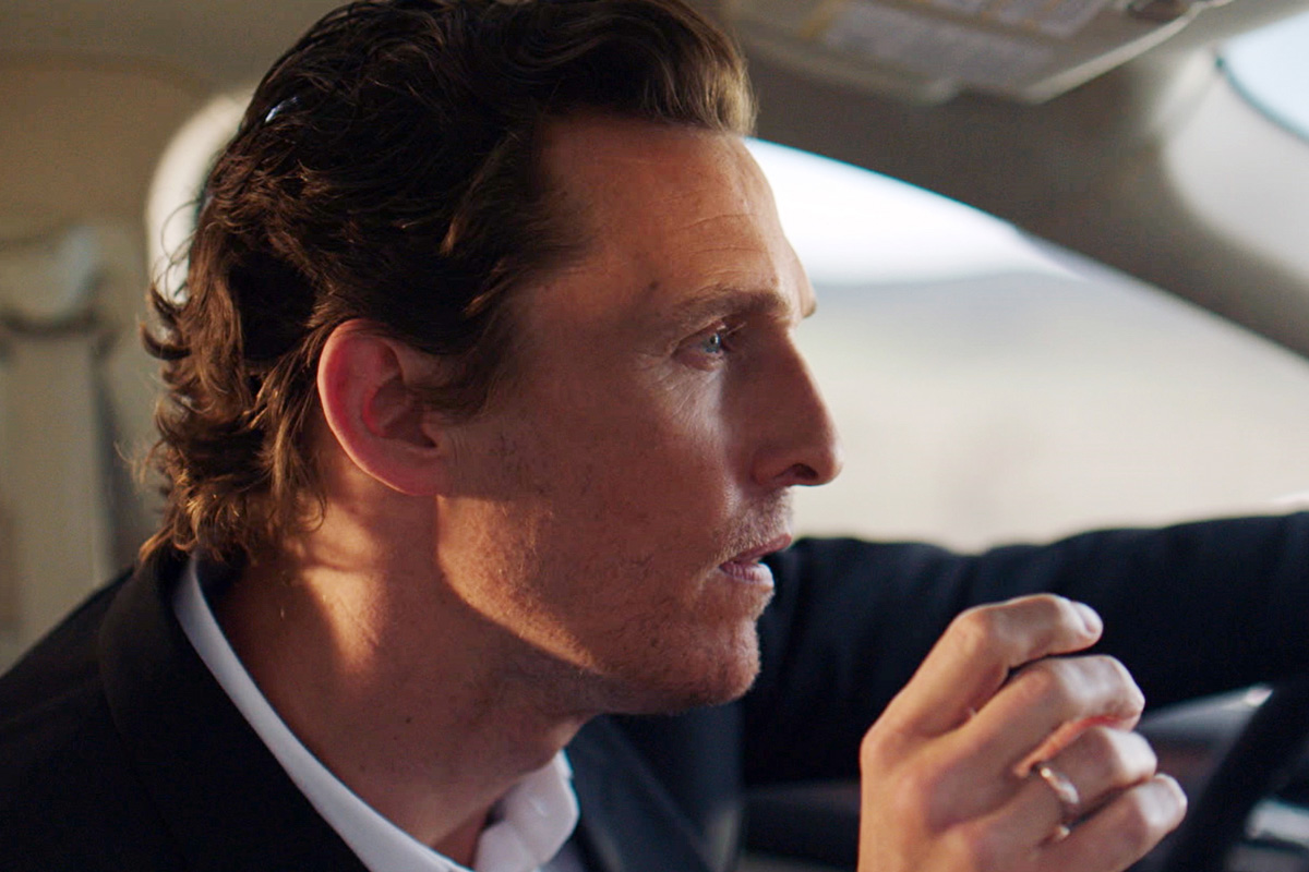 Lincoln MKC Campaign featuring Matthew McConaughey