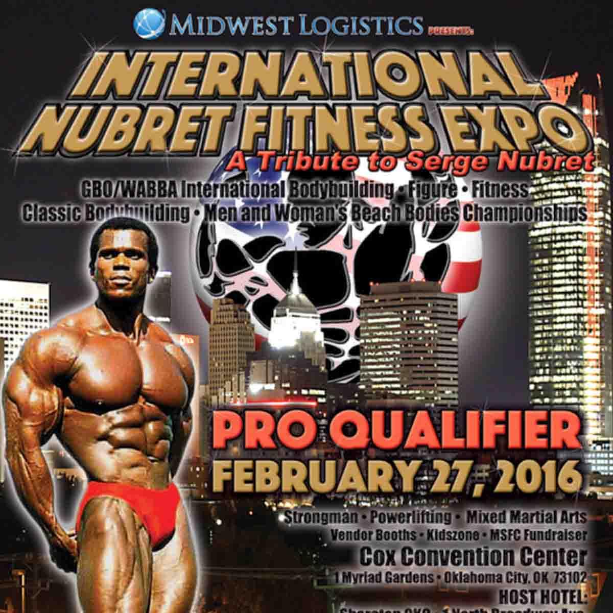 International Nubret Fitness Expo 1:1