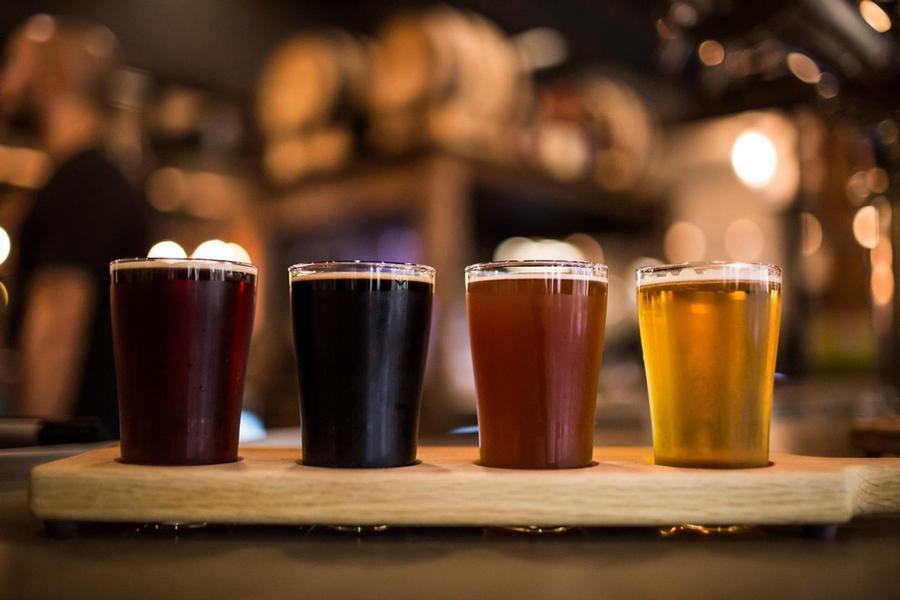 Big Rock Brewery Flights