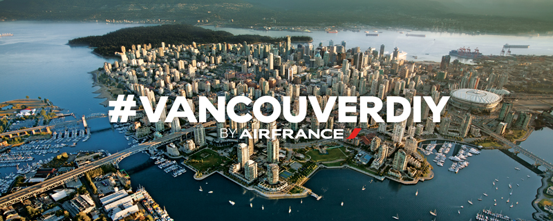 Vancouver DIY Air France