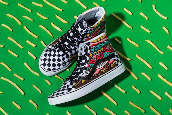"The Vans ""Late Night Pack"" 50th Anniversary high-top"