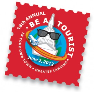 Greater Lansing Be a Tourist Day Logo