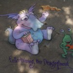 Lansing Michigan Chalk of the Town